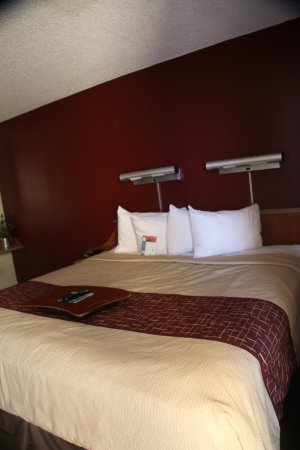 Red Roof Inn Gallup: Comfortable Bed