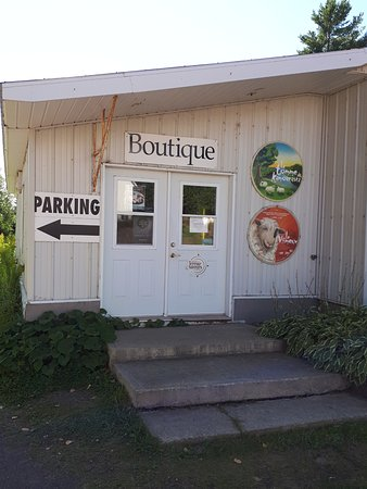 La Pocatiere, Canada: The Boutique entrance