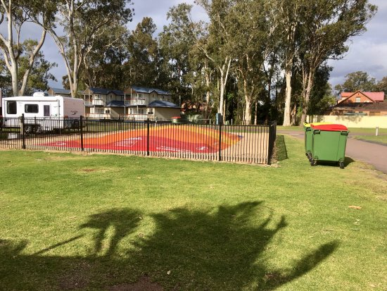 "Mannering Park, Australia: The ""Fun Police"" decided to shut it down as it was just our child who was using it."