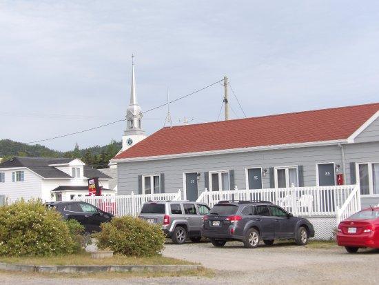 Motel le vacancier baie sainte catherine canada voir for Motel bas prix