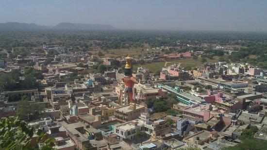 Dausa, India: Statue of Hanuman ji