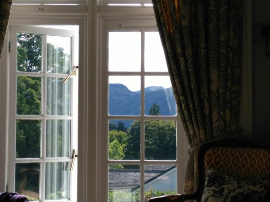 The Grange Country House: The view outside Room 3