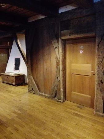 Hostel Feldkirch: the corridor