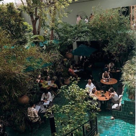 Le jardin marrakech tensift el haouz region restaurant for Cafe le jardin marrakech