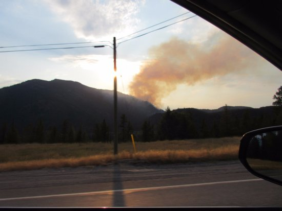 Moyie, Canada: Start of the Fire