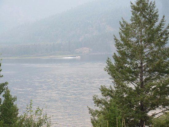 Plane on Moyie Lake