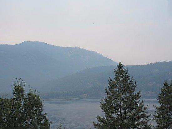 Moyie lake fire