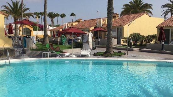 Club Primavera: Residence molto tranquillo, adatto per famiglie ma ideale per essere alle dune di maspalomas.