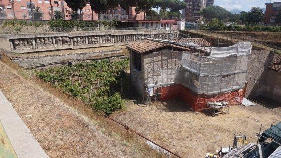 Boscoreale, Ιταλία: villa regina,lavori in corso