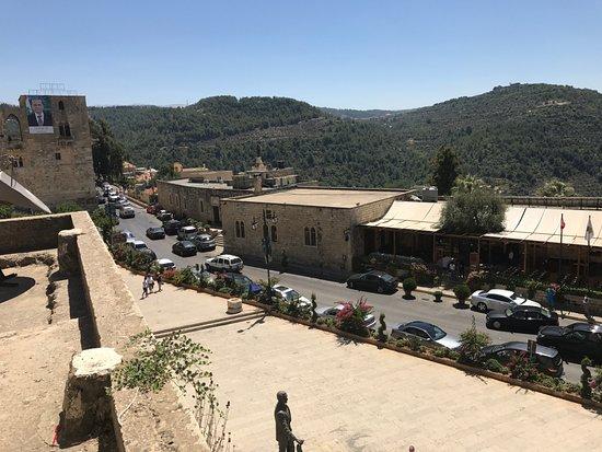 دير القمر, لبنان: вид с крыш