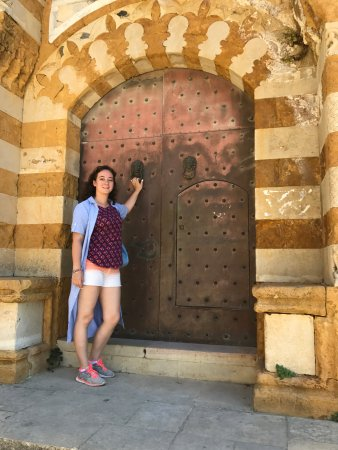 دير القمر, لبنان: ворота уважаемого жителя