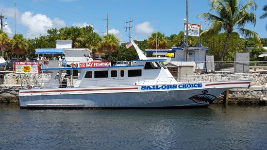 Sailors choice party fishing boat for Key largo party boat fishing