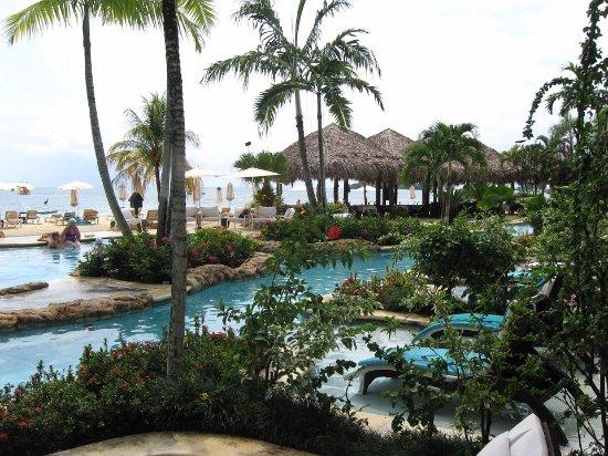ساندالز نيجريل بيتش ريزورت آند سبا: Swim-up Crystal Lagoon Pool & Room