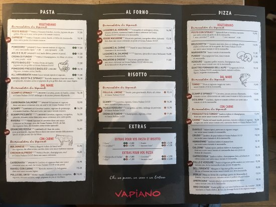 photo de vapiano disney village chessy tripadvisor. Black Bedroom Furniture Sets. Home Design Ideas