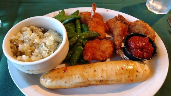 Black Bear Lodge: Meal at the Black Bear grill