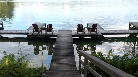 Saint Germain, WI: Dock area