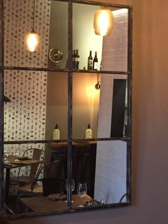 Restaurante Ponsa: Hay espacio para poco más de 20 personas.