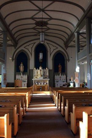 Church of St. Augustine: interior
