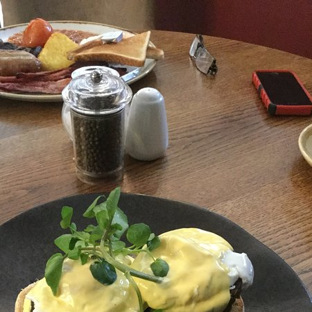 Eggs Benedict With Haggis And Black Pudding Plus The Small