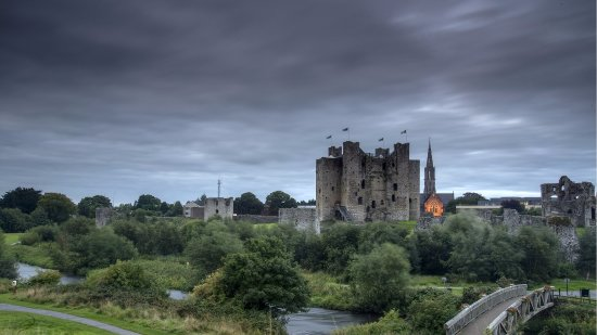 Kilmessan, Irland: Trim Castle is Ireland's largest Anglo-Norman castle.