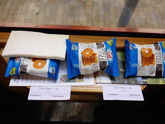 Dampfbahn Furka Bergstrecke: Snack und Sitzplatzreservierung