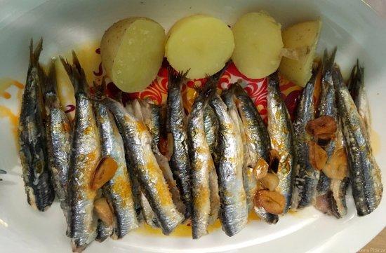 Timon Bar: Las anchoas a la Bilbaína