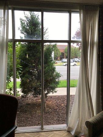 Comfort Inn Downtown: Blick aus dem Lobbyfenster