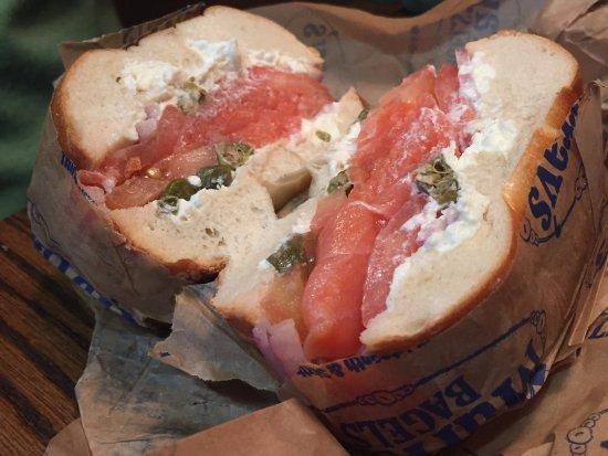 Murray's Bagels: Salmon