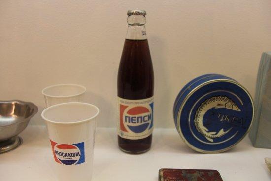 Государственный музей политической истории России: An import from the West (Pepsi)