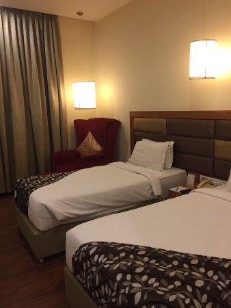 Hotel Ramanashree Richmond Circle: Good for business travelers!