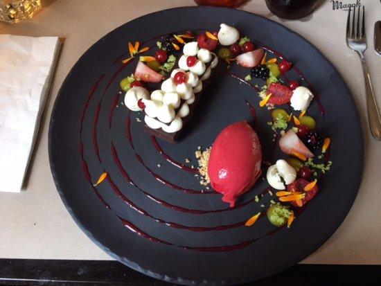 Macok Bistro and Wine Bar: Macok csokoládétorta