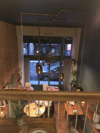 Vue De L Etage Photo De Restaurant David Toutain Paris Tripadvisor