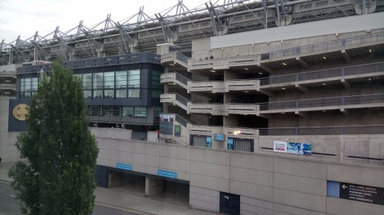 The Croke Park: Croke Park Stadium, the Mecca for GAA sports supporters.