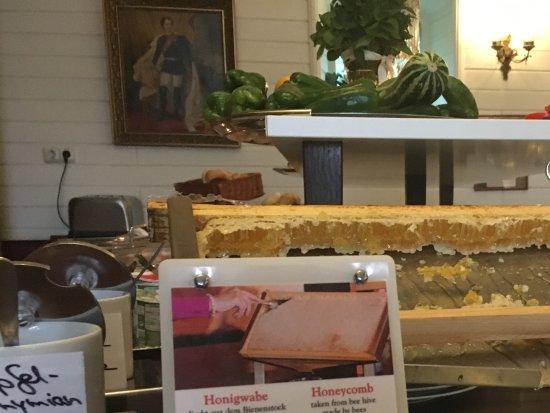 Hauzenberg, Alemania: Honningtavle fra egn biavl