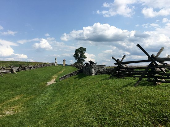 Sharpsburg, MD: Antietam National Battlefield - sunken road area