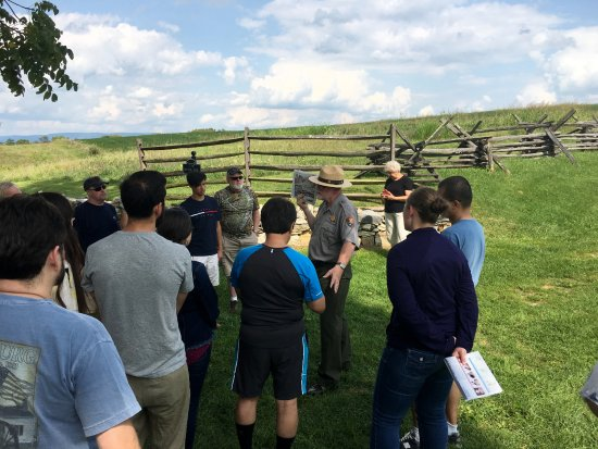 Sharpsburg, MD: Guided tour in Antietam National Battlefield