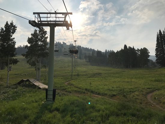 Grand Targhee Ski Resort: Seilbahn im Sommer
