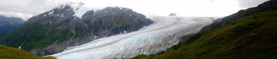 הפארק הלאומי קינאי פיורדס, אלסקה: Exit Glacier from the Icefields Trail