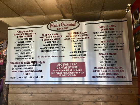 Moe S Original Bbq Vail Restaurant Reviews Phone