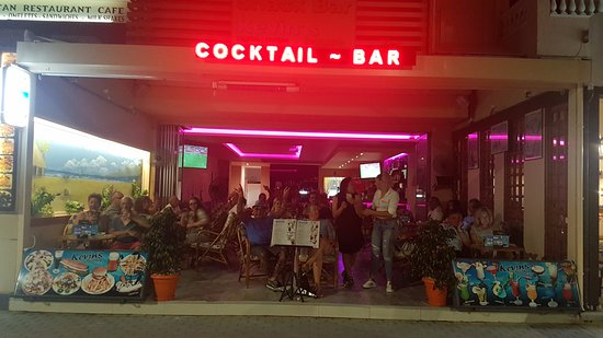 Rethymnon, Yunani: Kevin's House Cocktail Bar