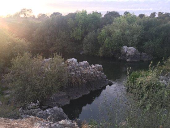 Azenhas da Seda - Aquaturismo: view from the tent