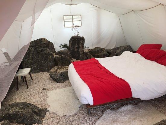 Azenhas da Seda - Aquaturismo: inside the tent