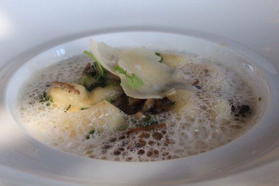 Auberge du Soleil: entradinha Potato Gnocchi