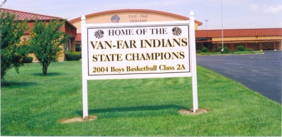 Vandalia, Миссури: Van-Far Indians 2004 MoState Basketball Champs...Carl H. =)~