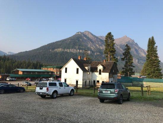 Super 8 Cooke City Yellowstone Park Area Parkplatz Des Hotels