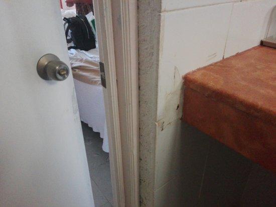 Hotel Posada Del Mar: con arreglos descuidados