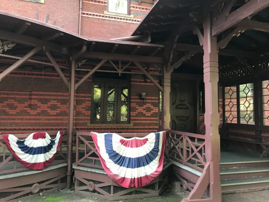 The Mark Twain House & Museum: Porch on South End