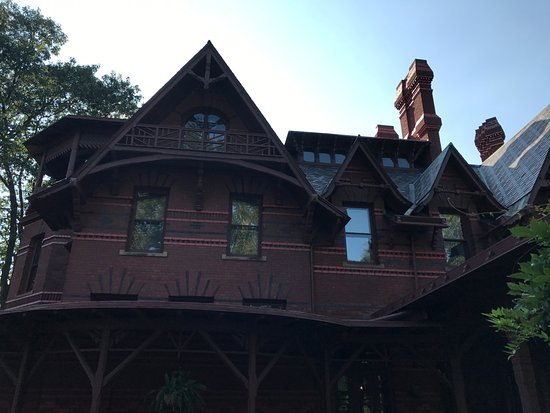 The Mark Twain House & Museum: South End of House