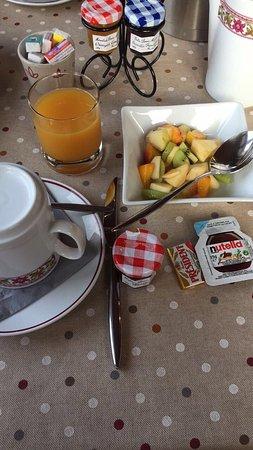 Hotel Edelweiss: Petit déjeuner
