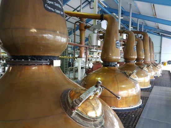 Port Ellen, UK: Laphroaig Distillery
